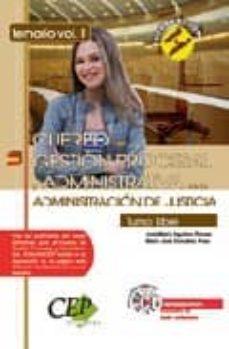Cdaea.es Oposiciones Cuerpo De Gestion Procesal Y Administrativa De La Adm Inistracion De Justicia. Turno Libre, Temario Vol. Ii Image
