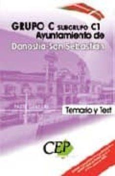 Colorroad.es Temario Y Test Parte General Ayuntamiento De Donostia-san Sebasti An: Grupo C Subgrupo C1 Image