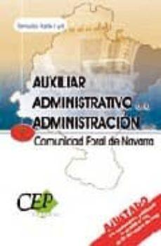 Permacultivo.es Auxiliar Administrativo De La Administracion De La Comunidad Fora L De Navarra. Temario Parte I Y Ii Image