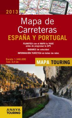 Alienazioneparentale.it Mapa De Carreteras De España Y Portugal 1:340.000, 2013 Image