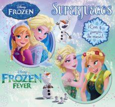 Chapultepecuno.mx Frozen. Superjuegos: Libro Con 4 Tableros, Fichas Y Dado Image