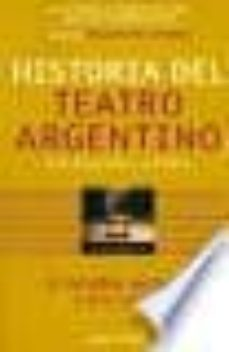Trailab.it Historia Del Teatro Argentino En Buenos Aires (Vol. Ii): La Emanc Ipacion Cultural (1884-1930) Image