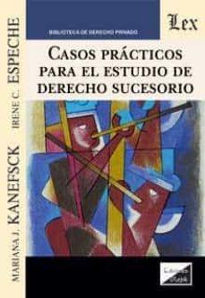 Descargar libros japoneses kindle CASOS PRACTICOS PARA EL ESTUDIO DE DERECHO SUCESORIO iBook