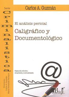 el análisis pericial caligráfico y documentológico-9789974708778