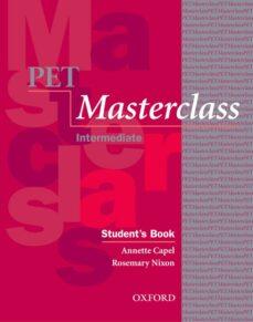 pet masterclass student s book pack-9780194514088