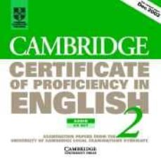 Curiouscongress.es Cambridge Certificate Of Proficiency In English 5 (Cpe) : 2 Cd S Image
