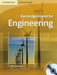 Descargas gratuitas de libros de texto. CAMBRIDGE ENGLISH FOR ENGINEERING: STUDENT S BOOK/AUDIO CDS (2) (Spanish Edition) FB2 ePub PDF