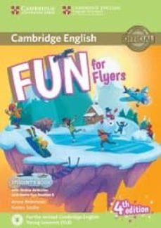 Buena descarga de ebooks FUN FOR FLYERS STUDENT S BOOK WITH ONLINE ACTIVITIES WITH AUDIO AND HOME FUN BOOKLET 6