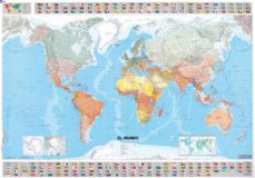 el mundo. mapa plastificado (1:28500000) nd/agt-9782061009888