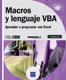 macros y lenguaje vba-frederic le guen-9782409013188