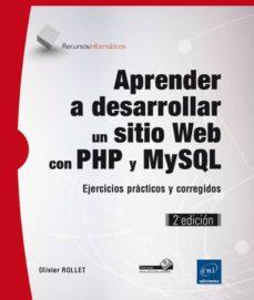 Ojpa.es Aprender A Desarrollar Un Sitio Web Con Php Y Mysql (2ª Ed.) Image