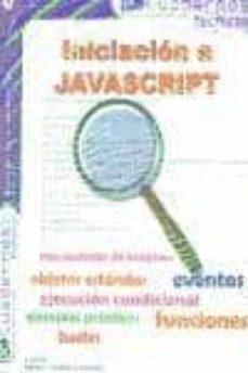 Permacultivo.es Iniciacion A Javascript (Pc Cuadernos Tecnicos) Image