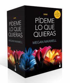 Descarga gratuita de audiolibros en español. ESTUCHE PÍDEME LO QUE QUIERAS de MEGAN MAXWELL