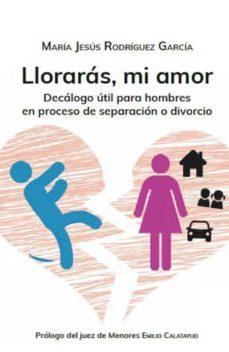 Descargar LLORARAS, MI AMOR: DECALOGO UTIL PARA HOMBRES EN PROCESO DE SEPARACION O DIVORCIO gratis pdf - leer online