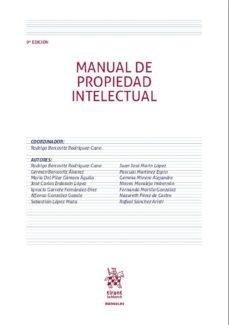 Descargar MANUAL DE PROPIEDAD INTELECTUAL gratis pdf - leer online