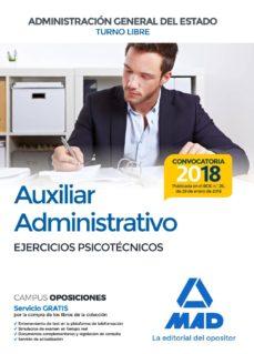 auxiliar administrativo de la administracion general del estado: ejercicios psicotecnicos-9788414214688