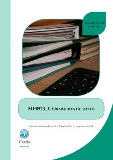 Cdaea.es Mf0973_1 Grabación De Datos (I.b.d.) Image
