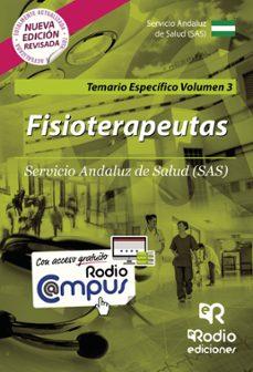 temario específico vol. 3. fisioterapeutas del sas-9788416963188