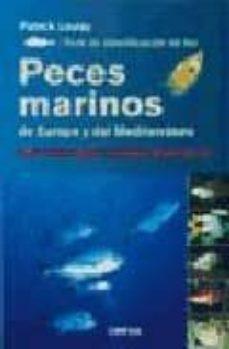 guia de identificacion de los peces marinos de europa y del medit erraneo-9788428208888