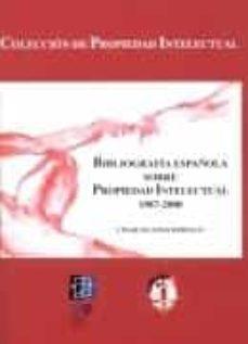 Srazceskychbohemu.cz Bibliografia Española Sobre Propiedad Intelectual 1987-2000 Image