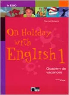 Viamistica.es On Holiday With English 1. Book + Cd Català 1º Eso Image