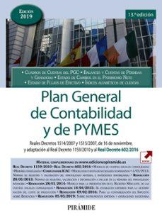 Descargar PLAN GENERAL DE CONTABILIDAD Y DE PYMES gratis pdf - leer online