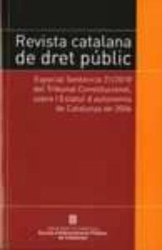 Elmonolitodigital.es Revista Catalana De Dret Public Image