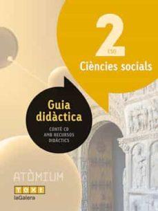 Inmaswan.es Ciencies Socials 2º Eso Guia Atòmium (Ed 2016) Image