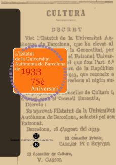 Geekmag.es Estatut De La Universitat Autònoma De Barcelona De 1933: 75è Aniversari Image