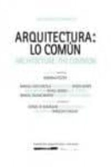 Upgrade6a.es Arquitectura: Lo Comun Image