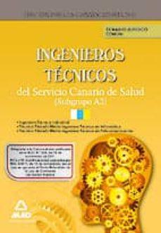 Elmonolitodigital.es Ingenieros Tecnicos Del Servicio Canario De Salud (Subgrupo A2). Temario Juridico Comun Image