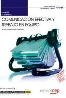 Titantitan.mx Manual Comunicacion Efectiva Y Trabajo En Equipo. Certificados De Profesionalidad Image
