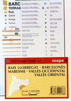 Padella.mx Mapa 9. Baix; Barcelones; Valles Occidental; Valles Oriental Image