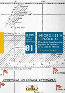 micronesia española?-emilio sáenz-francés-9788484686088
