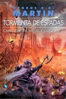 Libros descargables gratis para iPod TORMENTA DE ESPADAS (SAGA CANCION DE HIELO Y FUEGO 3) (2 VOLS) de GEORGE R.R. MARTIN  9788496208988 in Spanish