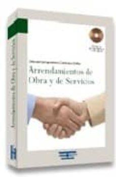 Encuentroelemadrid.es Arrendamientos De Obra Y De Servicios (Incluye Cd-rom) Image