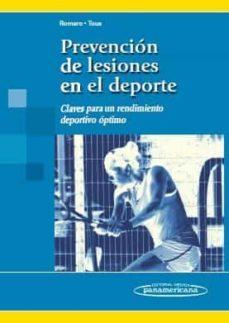 Libros en reddit: PREVENCION DE LESIONES EN EL DEPORTE: CLAVES PARA UN RENDIMIENTO DEPORTIVO OPTIMO