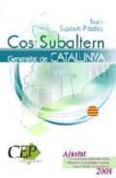 Permacultivo.es Test I Suposits Practics Oposicions Cos De Subalterns De La Gener Alitat De Catalunya Image