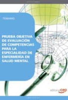 Inmaswan.es Prueba Objetiva De Evaluacion De Competencias Para La Especialida D De Enfermeria En Salud Mental. Temario Image