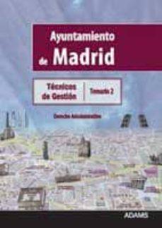 Permacultivo.es Tecnicos De Gestion Del Ayuntamiento De Madrid: Temario 2 Image
