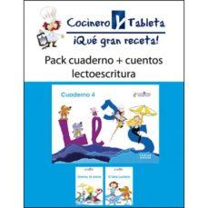Viamistica.es Pack 4-4 Años Cuentos+cuad.lecto.(cocinero Tableta) Image