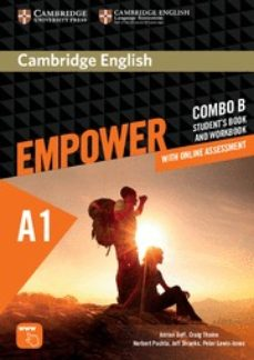 Descargar mp3 gratis ebook CAMBRIDGE ENGLISH EMPOWER STARTER COMBO B (SPLIT EDITION) (STUDENT S BOOK B & WORKBOOK B WITH ONLINE ASSESSMENT & PRACTICE)