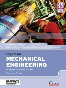 Pdf descarga libros electrónicos ENGLISH FOR MECHANICAL ENGINEERING IN HIGHER EDUCATION STUDIES (WITH 2 AUDIO CD) (Literatura española) de MARIAN DUNN