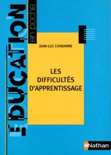 les difficultés d'apprentissage (ebook)-jean-luc chabanne-9782091091198