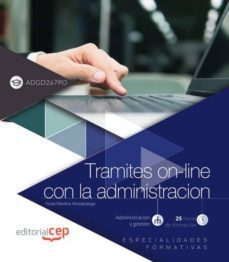 Chapultepecuno.mx Tramites On-line Con La Administracion (Adgd267po). Especialidades Formativas Image