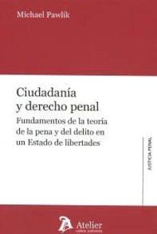 ciudadanía y derecho penal-michael pawlik-9788416652198