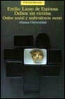 Permacultivo.es Delitos Sin Victimas: Orden Social Y Ambivalencia Moral (2ª Ed.) Image