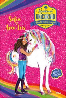 academia unicornio nº 1 sofia y arco iris-julie sykes-9788427216198