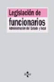 Permacultivo.es Legislacion De Funcionarios: Administracion Del Estado Y Local (7 ª Ed.) Image
