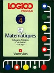 Inmaswan.es Logico Piccolo Matematiques Fitxer 4 Cicle Inicial (6 - 8 Anys) Image